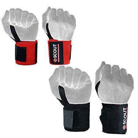 ec2cc8a675a7a Amazon.com : ScoutPerformanceGear Best Wrist Wraps 14