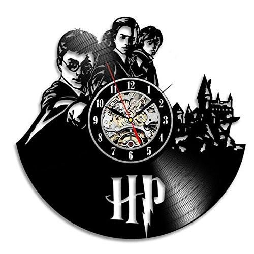 Harry Potter Hermione Granger Ron Weasley Vinyl Record Wall Clock. Free delivery worldwide!