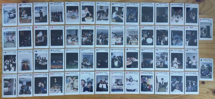 52 cards in a deck // 52 weeks in a year. Its a sprawl of all 54 cards, taken over more like a year and 3 months. #cards #polaroid #photochallenge #photography