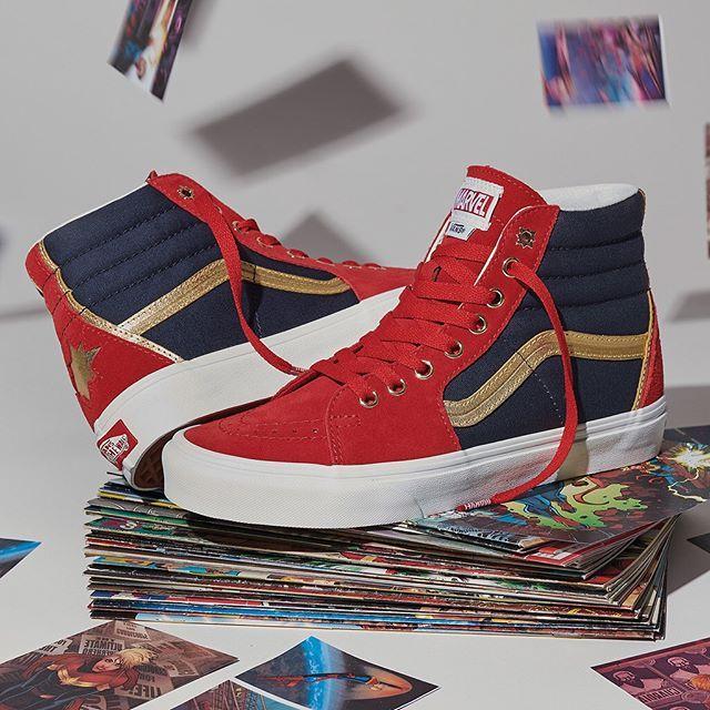 Marvel shoes, Vans marvel, Marvel clothes