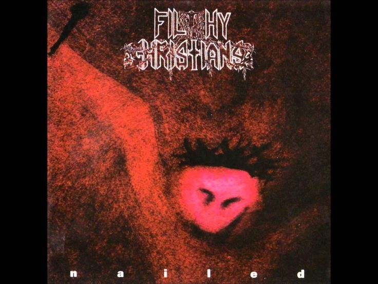FILTHY CHRISTIANS - Nailed ◾ (EP 1994, Swedish death/thrash metal/grindcore)