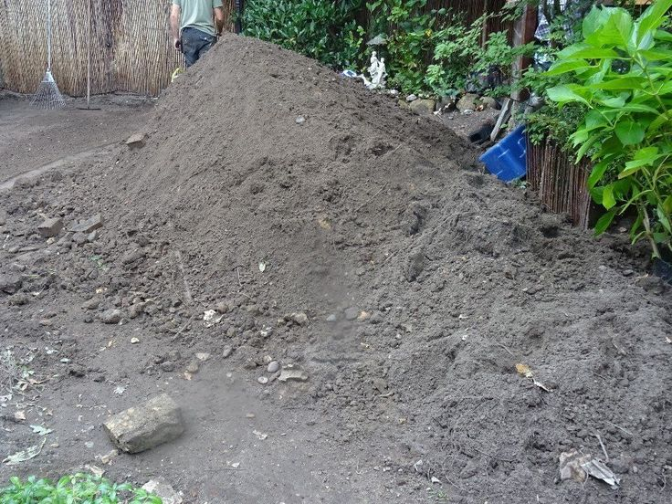 Free topsoil, you collect, we will most likely end up with