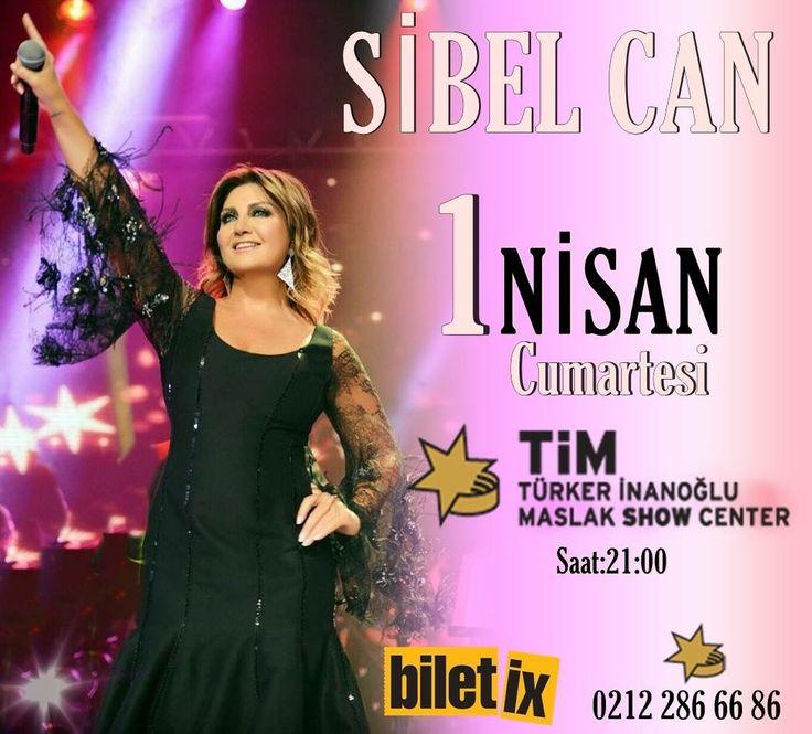 🌟🎶💫✨🎙Sibel Can ✨💫🎶🌟 TİM Show Center'da... 1 Nisan Cumartesi Saat:21:00 Biletler @biletix @timshowcenter