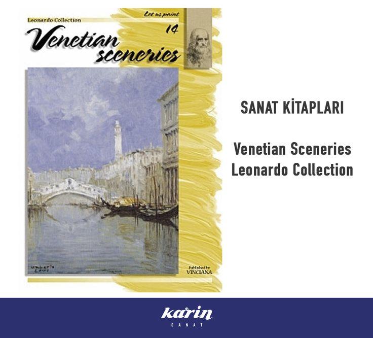 Sanat Kitapları http://www.karinsanat.com/venetian-sceneries-n14  #SanatKitapları #VenetianSceneries #LeonardoCollection #artbook #karinsanat