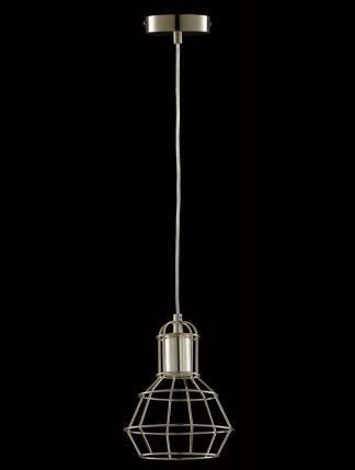 POLISHED BRASS METAL CAGE PENDANT - Pendants lights - Indoor Lighting