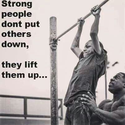 Which of you are truly strong
