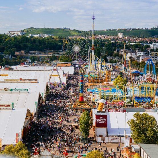 Cannstatter Volksfest - 23 September to 9 October 2016