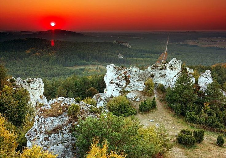 Góra Zborów, Polska