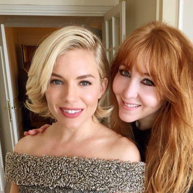 Sienna Miller at Cannes with Charlotte Tillbury makeup #lipcheatlipliner #pillowtalk #MatteRevolution #bondgirl #walkofshame