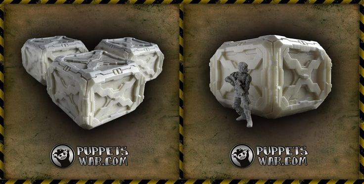 New release - further resin foam product - Cargo Crates Set and Cargo Crate. https://puppetswar.eu/product.php?id_product=681 https://puppetswar.eu/product.php?id_product=682