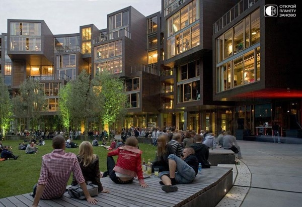 The Tietgen Residence Hall University Dorm in Denmark