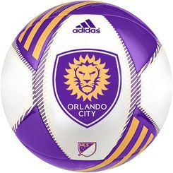 Orlando City SC adidas MLS Team Soccer Ball