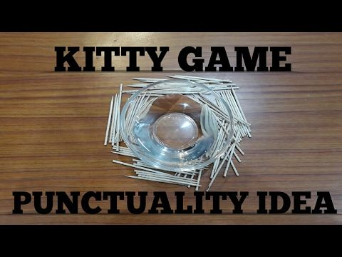 Toothpick and water (Kitty Party Game) - YouTube