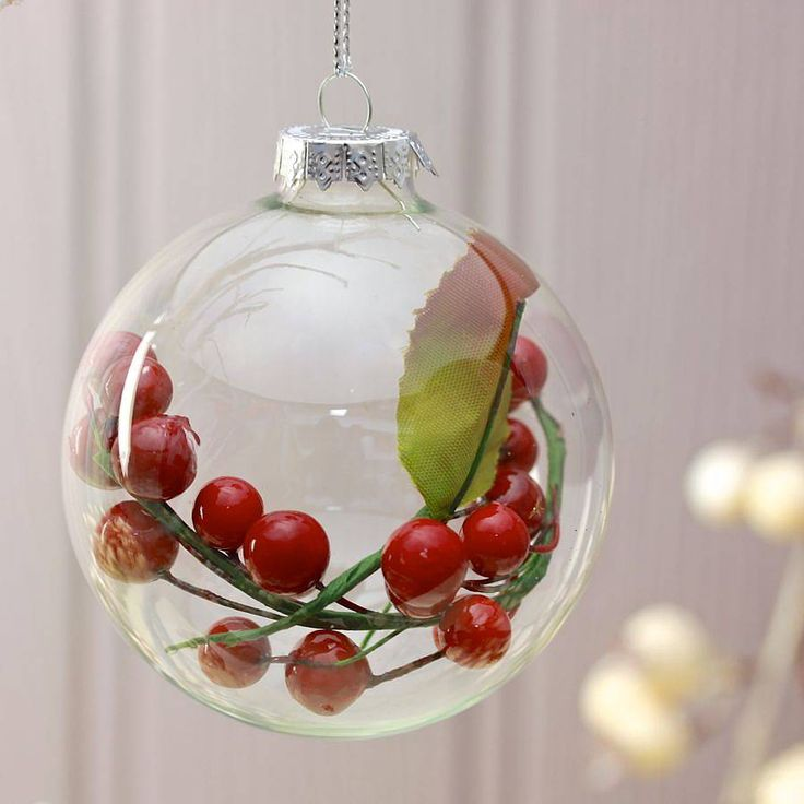 17 best images about clear christmas bauble ideas on