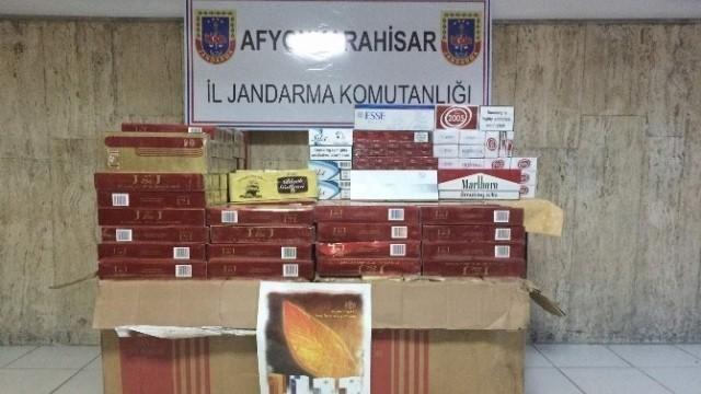 Emirdağ'da kaçak sigara operasyonu