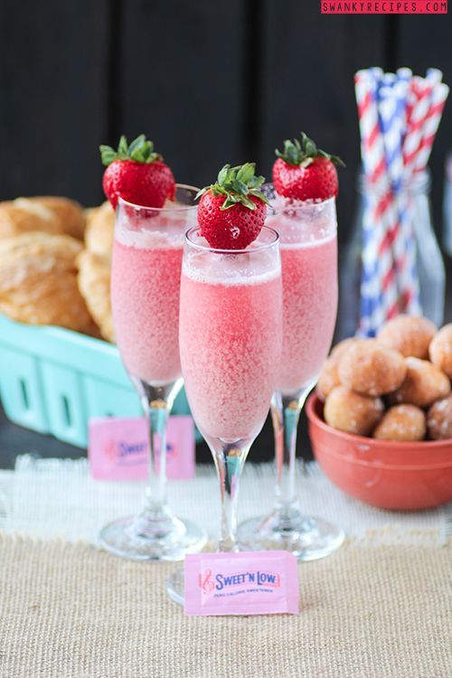 Strawberry & Cream Mimosa