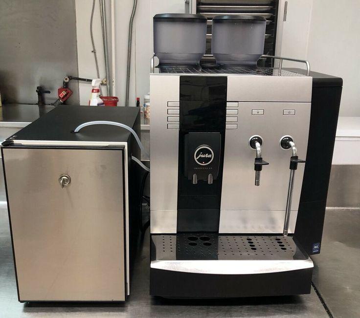 Jura impressa x9 super automatic coffee machine milk