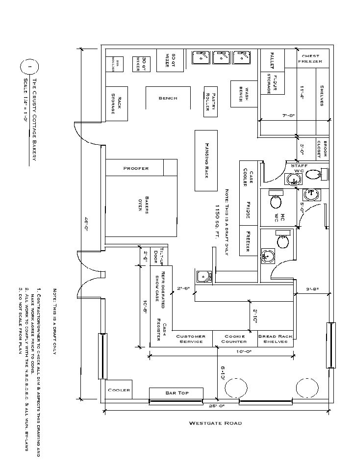 home based bakery store fronts   Bakery Floor Plan