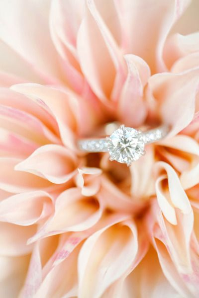 A sparkling engagement ring: http://www.stylemepretty.com/little-black-book-blog/2015/01/13/elegant-ashford-estate-ballroom-wedding/ | Photography: Kay English - http://www.kayenglishphotography.com/