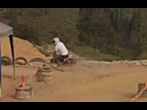 Caida en Mini Bike