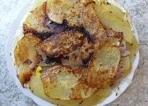 Omeleta ze syrových brambor