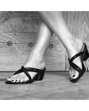 Tunis Heel sandal by Preston ZLY  Just one of the amazingly comfortable and stylish shoes on offer.