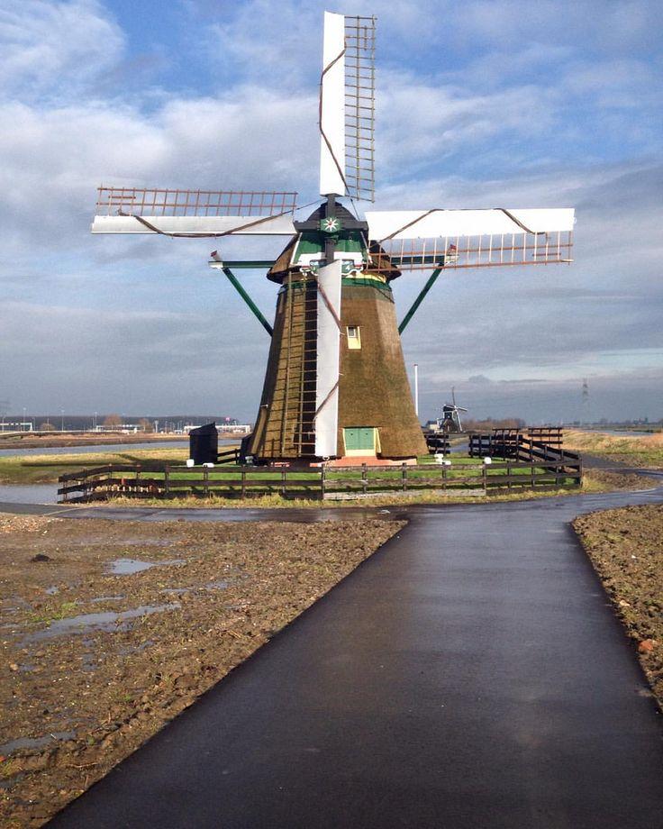 #mill #windmill #windmolen #dutch #dutchmill #munnikenmolen #leiderdorp