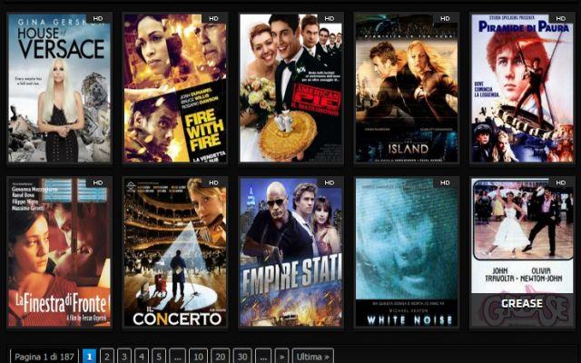 Il miglor sito per guardare film in streaming  HD senza blocchi o pubblicità.