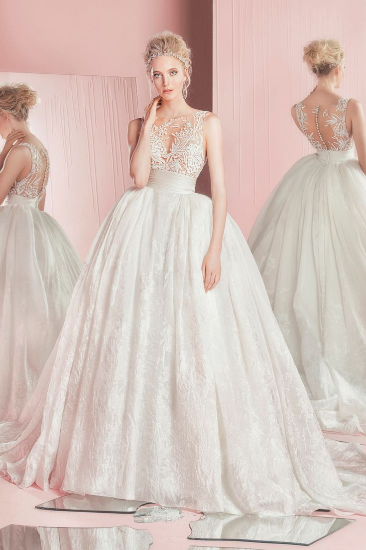 how much does the average wedding dress cost australia%0A Zuhair Murad u    s Spring   Summer      Bridal Collection  Zuhair Murad is  known for his ethereal wedding gown selections that will swoon you in  amazement