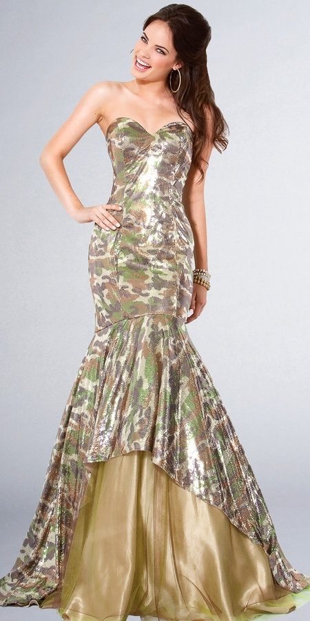 camo dress shoes | Jovani Camouflage Prom Dresses by Jovani for Sale ...