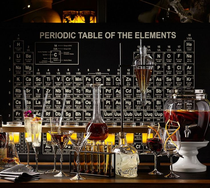Mad scientist party: Chemistry party set at Pottery Barn