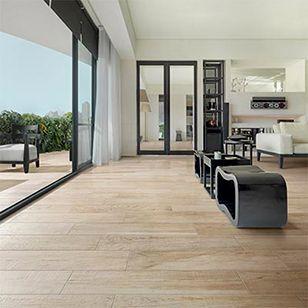 Offrez le meilleur à votre sol intérieur en optant pour le carrelage imitation parquet Annecy de Cerdisa. Émulez le parquet des chalets savoyards !