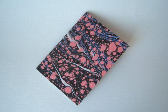 Marble notebook Travelers sketchbook by ArlesAtelierBooks on Etsy