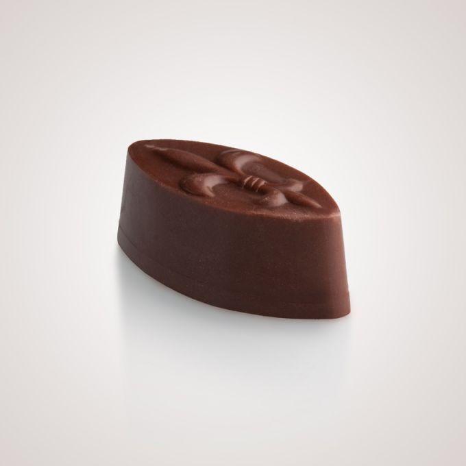 Σοκολάτα γάλακτος με γέμιση γκανάζ καραμέλα