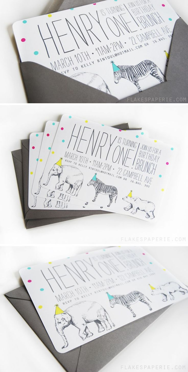 Best Animal Party Invitations Images On Pinterest Animal - Birthday party invitation ideas pinterest