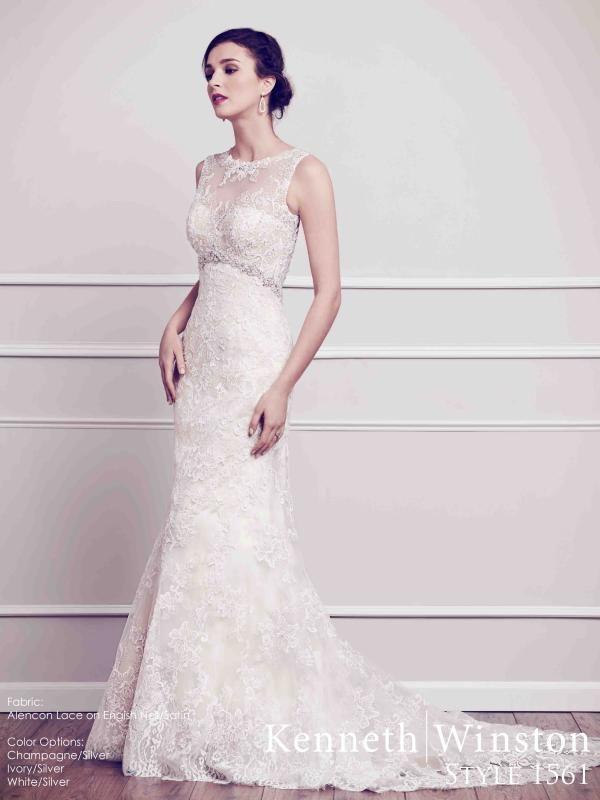 Nemes elegancia, a finom hölgyek kedvence. #weddingdress #lace #satin #kennethwinston #eskuvoiruha #csipke