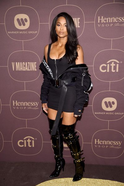 Ciara Photos - Ciara attends the Warner Music Group Pre-Grammy Party in association with V Magazine on January 25, 2018 in New York City. - Warner Music Group Hosts Pre-Grammy Celebration In Association With V Magazine - Arrivals