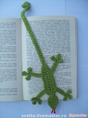 Atelier Mania de Crochê: Marcador de livro
