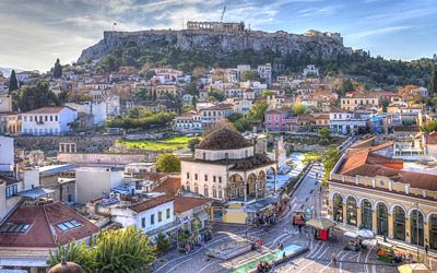 Greece Travel Package Tours - Athens to Rhodes and Patmos Vacation Packages