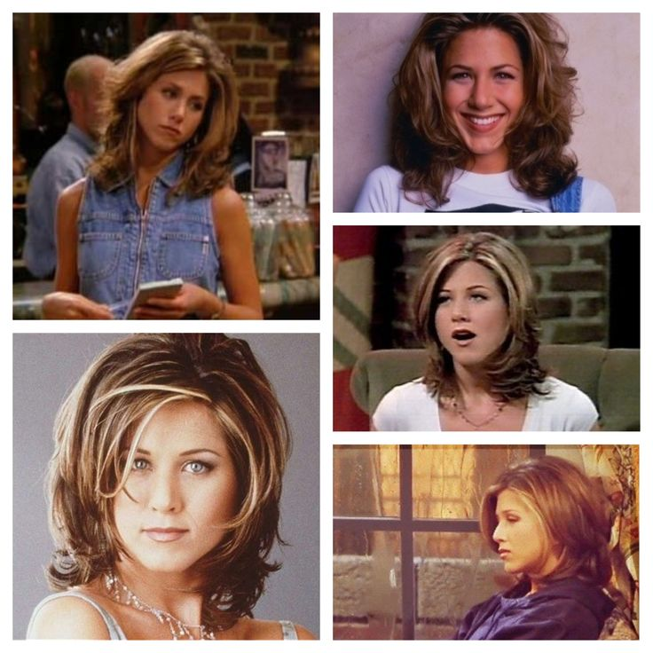"I want the ""Rachel Green"" hair cut someday!"