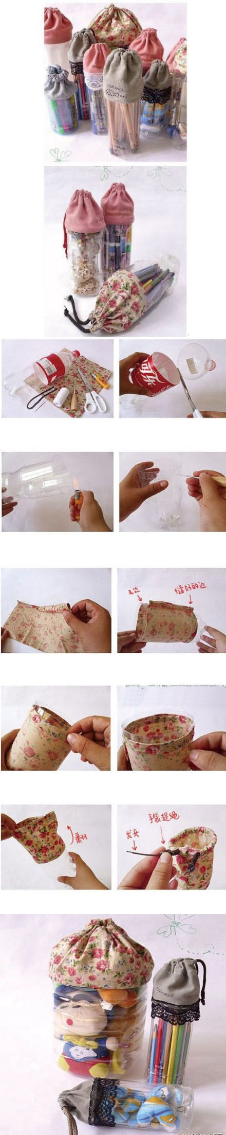 Beautiful Pen Container | Click to see More DIY & Crafts Tutorials on Our Site.