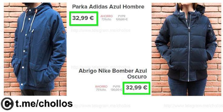 Parka Adidas Neo y abrigo Nike desde 36 - http://ift.tt/2kpCs6D