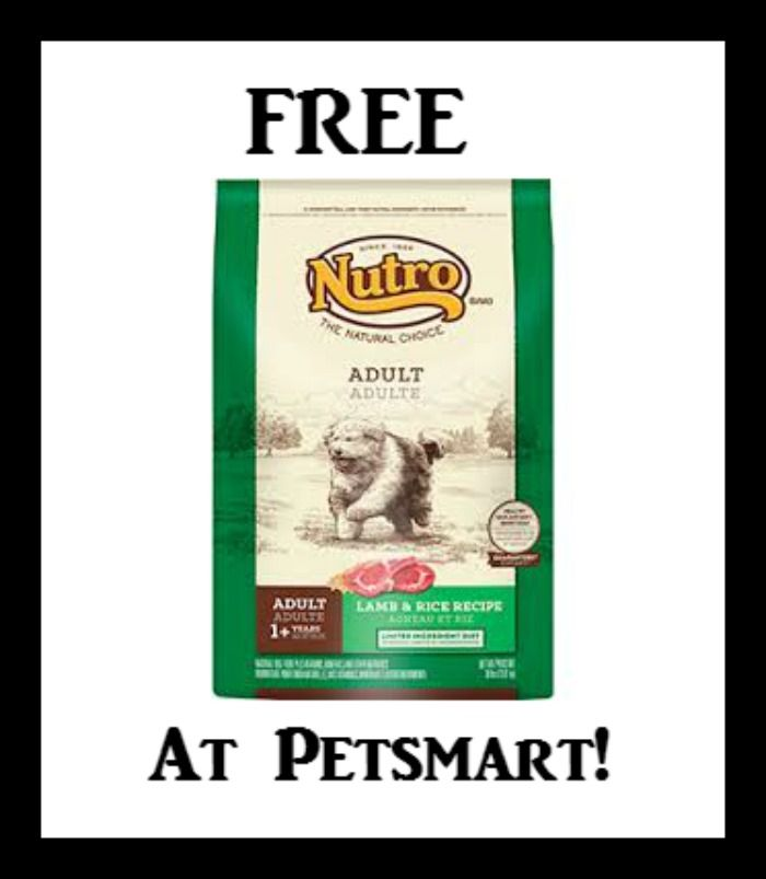 FREE Bag of Nutro Dog Food at PetSmart (May 20 ONLY) - http://dealmama.com/2017/05/free-bag-nutro-dog-food-petsmart-may-20/