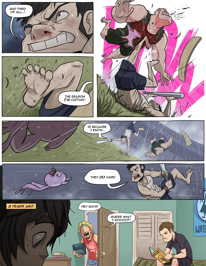 Boxer Hockey - Funny comics