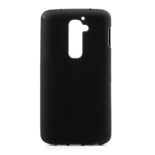 Zwart TPU hoesje voor de LG G2