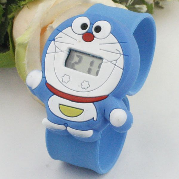 Aliexpress.com : Buy Kawaii Doraemon cartoon cat child watches ...