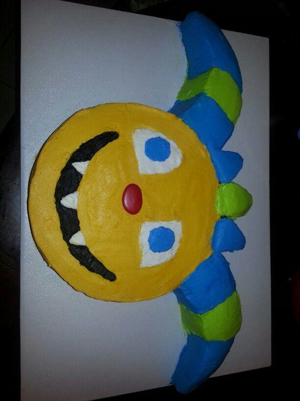 Henry Hugglemonster inspired cake