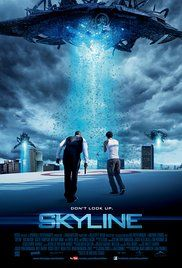 Skyline (2010) Action Sci-fi Thriller. Strange lights descend on the city of Los Angeles, drawing people outside like moths to a flame where an extraterrestrial force threatens to swallow the entire human population off the face of the Earth.