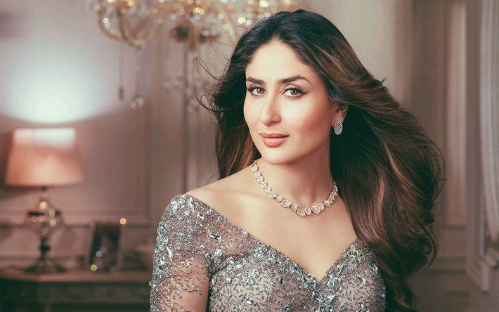kareena kapoor, portrait, makeup, Indian actress, beautiful woman, bollywood