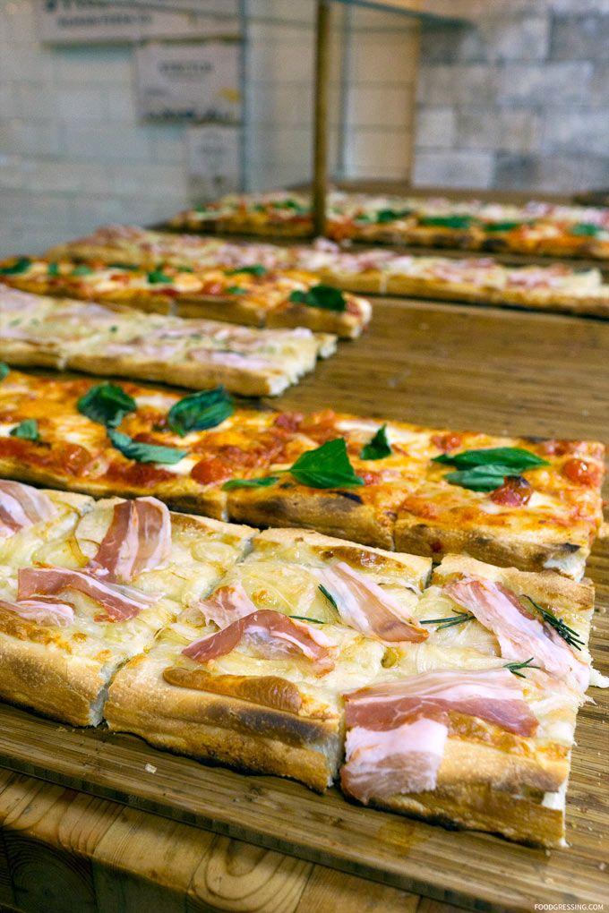 Roman-style Pizza
